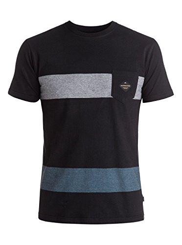 Woven T-shirt (Quiksilver Men's Twinning T-Shirt, Tarmac,)