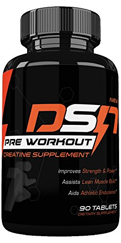 Dyna Storm Nutrition Pre Workout, Creatine Pre Workout Supplement, tablets, 1 Bottle (30 day supply) - One A Day 30 Tablets