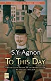 To This Day, S. Y. Agnon, 1592642144