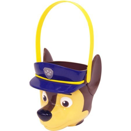 [Paw Patrol Halloween Candy Pail - 3D Figural Plastic Bucket] (Mop And Bucket Costume)