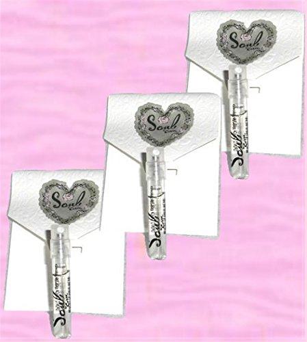 Claiborne Liz Parfum Vial (Liz Claiborne Curve Soul Eau de Parfum women Spray Vials - lot of 3)