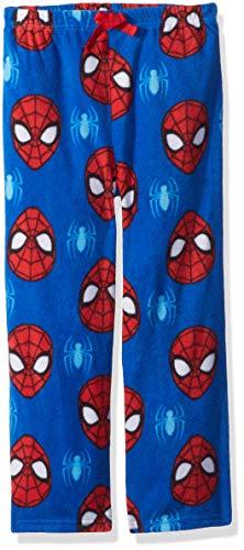 (Marvel Boys' Little Spiderman Fleece Lounge Pant, Spidey Sense, 6)