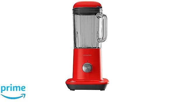 Kenwood Electronics BLX50RD Batidora de vaso 1.6L 800W Rojo - Licuadora (1,6 L, Batidora de vaso, Rojo, Vidrio, Aluminio, Acero inoxidable, ...