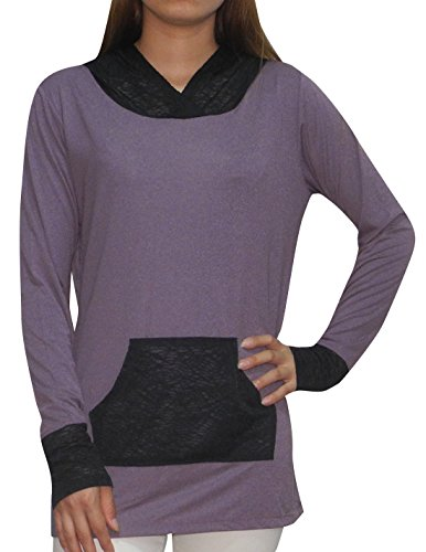 bally-total-fitness-womens-lightweight-yoga-casual-hoodie-sweatshirt-l-purple