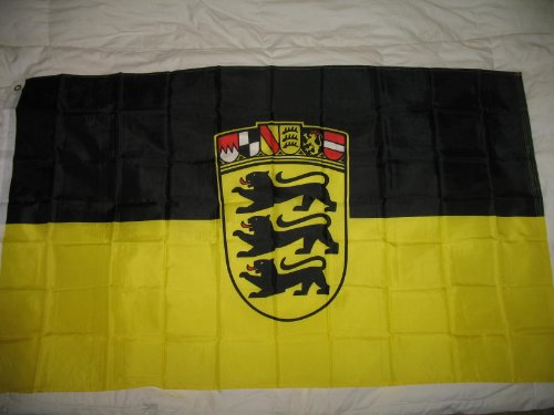 German State Flag - RFCO 3x5 Baden Wuerttemberg Germany Flag German State Banner Pennant Indoor Outdoor