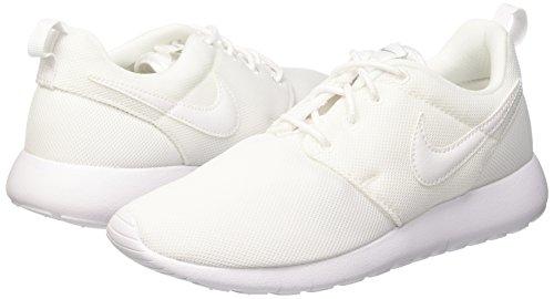 Da Bambina white One Roshe Scarpe Nike Grey Rosa wolf Ginnastica white gs wYIf5zq