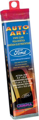 Chroma Graphics,Inc. 476 Ford Static Cling Decal Auto (Chroma Graphics Static Cling)