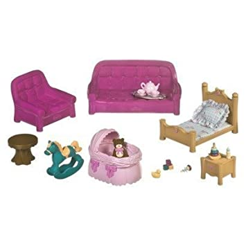 Lil Woodzeez Living Room And Nursery Set