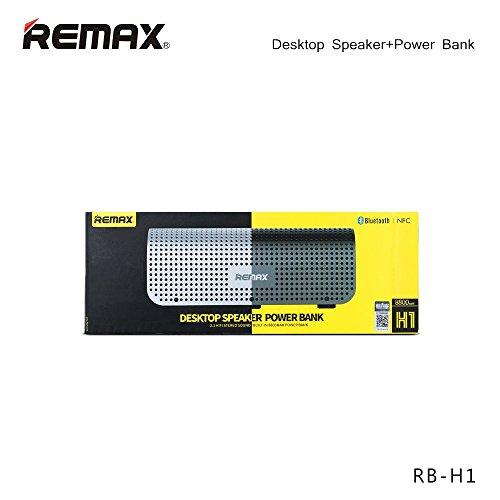 Remax Desktop SPEKER Power Bank Black/Siver