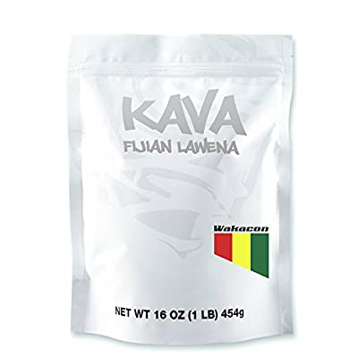Wakacon Kava Lawena Powder - Fijian Premium Noble High Quality Kava Root