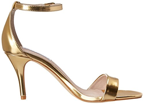 Steve Madden Silly - Sandals for Women, Gold foil, Size 4.5