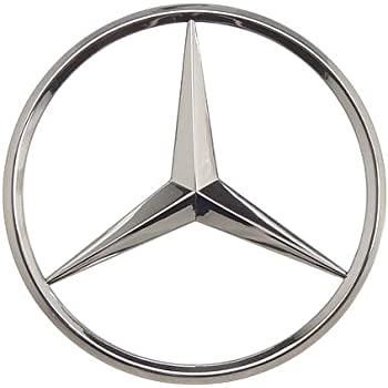 Oes genuine mercedes benz star trunk emblem for Mercedes benz star logo