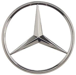 oes genuine mercedes benz star trunk emblem. Black Bedroom Furniture Sets. Home Design Ideas