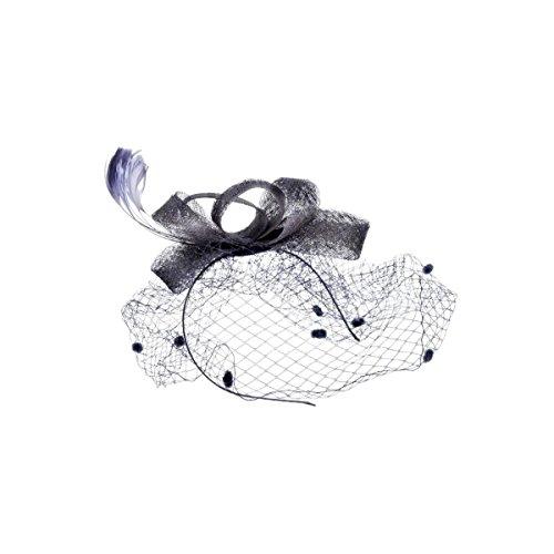 신부 웨딩 베일 헤드 드레스 날개 깃털 리본 도트 명주 고딕 클래식 칵테일 모자 유럽풍 새로운 여성 예식 모자 머리띠 Fascinator 린넨 모자