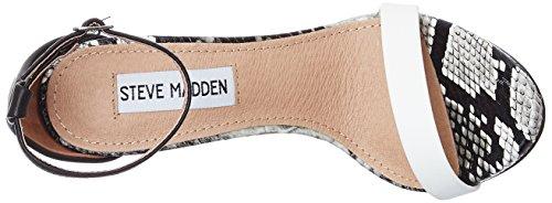 Femme Steve Blanc Sandales Madden Plateforme Stecy WB6B7na