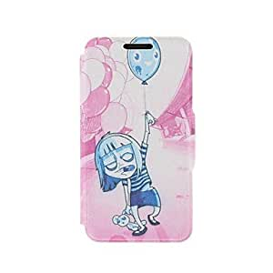 YULIN Kinston Teenage Terror Pattern PU Leather Full Body Cover with Stand for iPhone 6