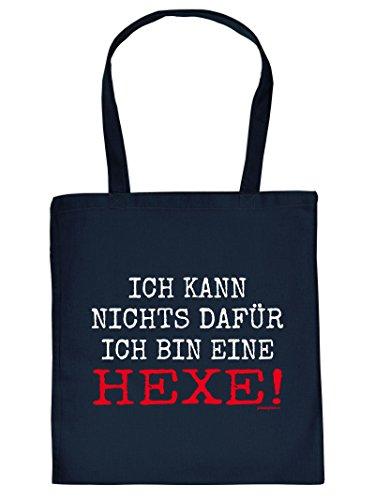 Hexe Halloween Tote Bag Henkeltasche Beutel mit Aufdruck Tragetasche Must-have Stofftasche Geschenkidee