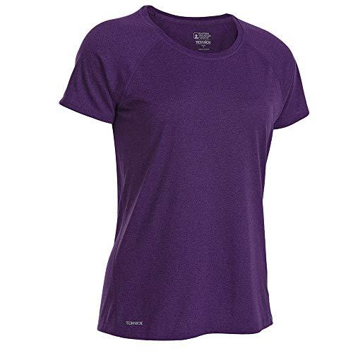 (Eastern Mountain Sports EMS Women's Techwick Essence Crew Short-Sleeve Shirt Acai M)