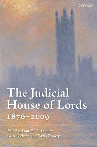 The Judicial House of Lords: 1876-2009 Pdf