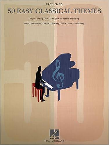 50 easy classical themes easy piano hal leonard corp