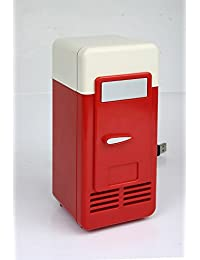 Refrigerator Freezer Cola Drink Cooler for USB Mini Red and black