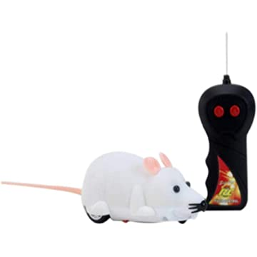 HOTUEEN Remote Control Wireless Simulation Electric Mouse Toy Pets Cats Game Toys