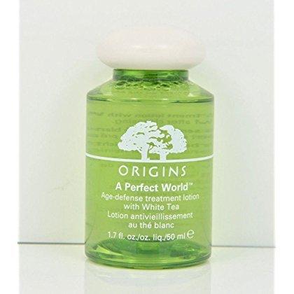 Origins a Perfect World Age-defense Treatment Lotion White Tea 1.7 Oz./50 Ml New