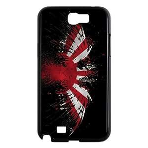 Japan Flag Samsung Galaxy N2 7100 Cell Phone Case Black Phone cover W9306399