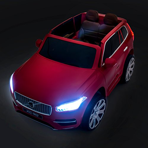 SPORTrax-Licensed-Volvo-XC90-Kids-Ride-On-Car-Battery-Powered-Remote-Control-wFREE-MP3-Player-Red
