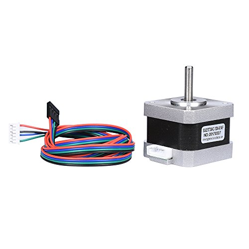 BIQU 42 Nema 17 Stepper Motor 34mm Height for CNC X / Y / Z axis For 3D Printer Electronic Parts (Motor Y-axis)