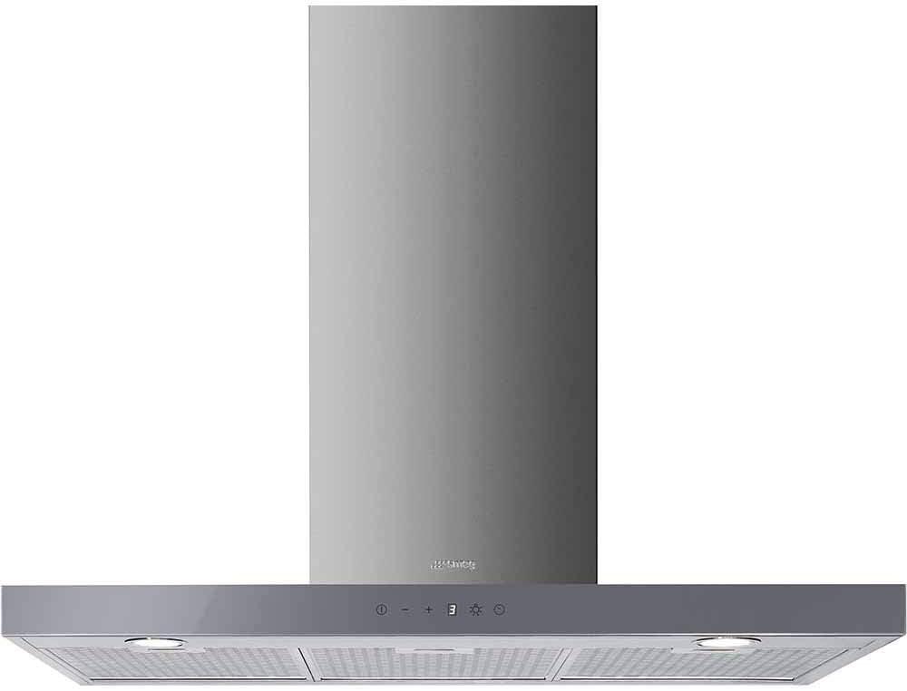 Smeg KS905SXE2 De pared Plata 820m³/h A - Campana (820 m³/h, Canalizado, A, A, C, 65 dB): Amazon.es: Hogar