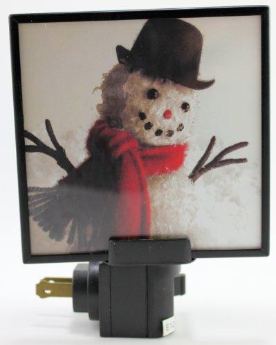 Seasons Of Cannon Falls Snowman Night Light