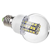 E26/E27 LED Globe Bulbs G60 47 SMD 5050 530lm Warm White Cold White 6000K AC 220-240V ( Light Source Color : Cold White )
