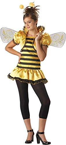 Preteen Honey Bee Costume Size: Preteen 12-14
