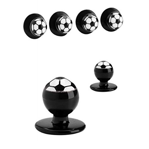 JOBELINE Ball Buttons (Soccer)