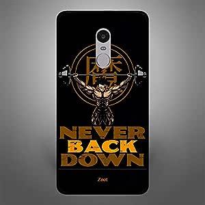 Xiaomi Redmi Note 4 Never Back Down