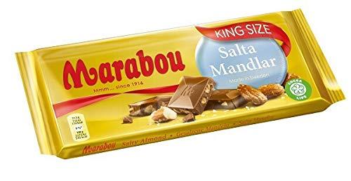 Salta Mandlar de chocolate con leche marabú - almendra salada, 200 g (¡Nueva variedad!): Amazon.es: Alimentación y bebidas
