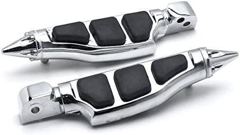 Stiletto Motorcycle Foot Pegs Footrests Left+Right For Yamaha V-Star 650 1998-2013 Front
