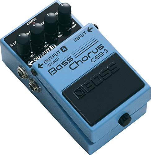 BOSS Bass Chorus Guitar Pedal (CEB-3)