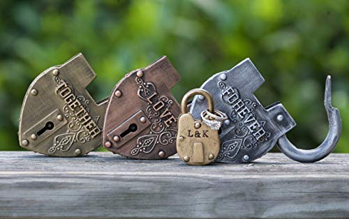 Wedding Unity Ceremony Love Lock Centerpieces