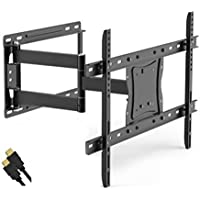 Onn Full Motion Articulating Tilt/Swivel Universal Wall Mount Kit for 19
