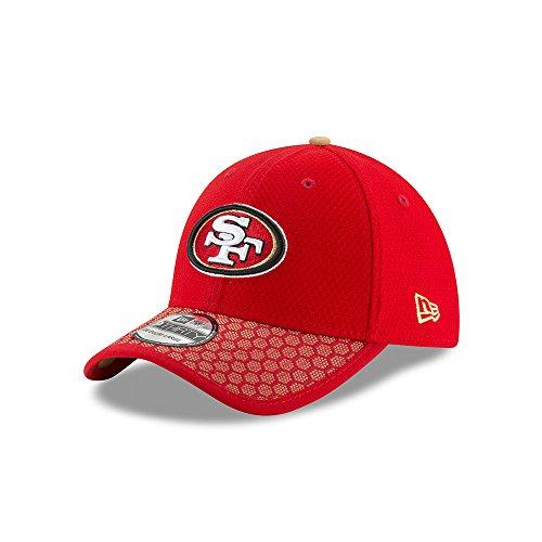 結婚アクセルラベニューエラ (New Era) 39サーティ キャップ - NFL 2017 サイドライン サンフランシスコフォーティナイナーズ (San Francisco 49ers)