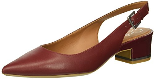 Calvin Klein Women's GLORIANNE Pump, red Rock, 8 Medium US