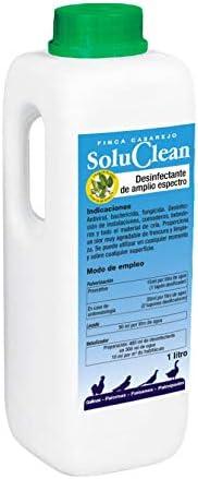 FINCA CASAREJO SOLUCLEAN. Solución para la desinfección Natural de instalaciones, comederos y Material de cría. 1 litro