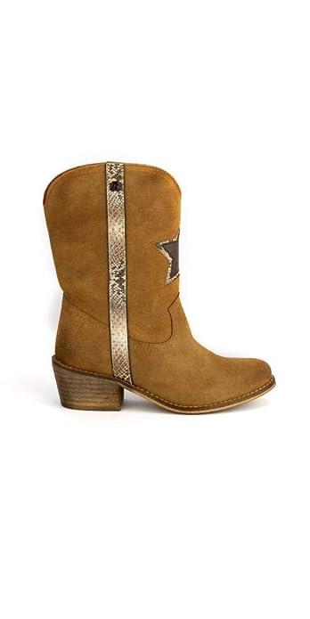 bajo precio 40f21 ca58d MUSTANG Botas Cowboy Estrella: Amazon.es: Zapatos y complementos