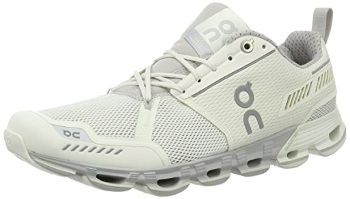 Cheap On Running Womens Cloudflyer White/Crystal Running Shoe – 8
