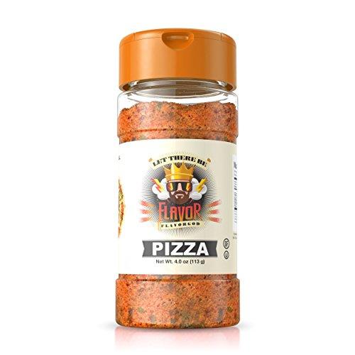 Flavor God Pizza Seasoning, 1 Bottle