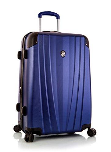. 50% SALE ... PREMIUM DESIGNER Hartschalen Koffer - Heys Core Velocity Grau - Trolley mit 4 Rollen Medium Bla