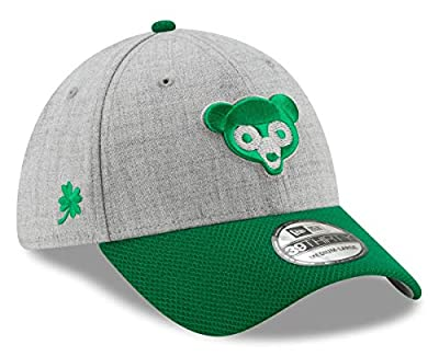 """New Era Chicago Cubs 39THIRTY St. Patrick's 1969 Cooperstown Redux 2"""" Hat"""