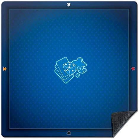 Wogamat Tapis de jeu Universel bleu 60 x 60 cm